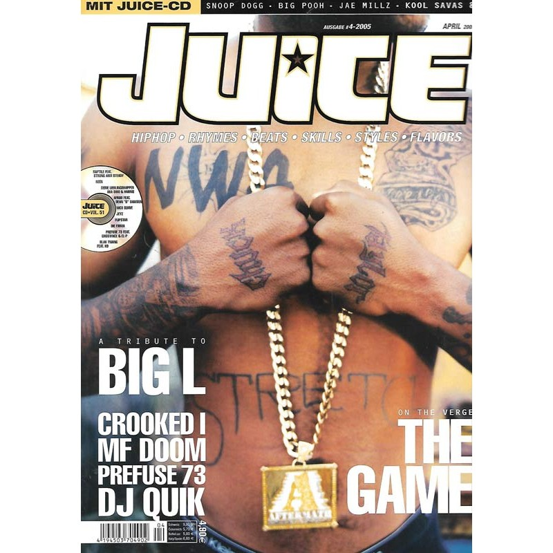 JUICE Nr.73 April / 2005 & CD 51 - The Game