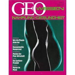 Geo Wissen Nr. 1/1990- Nahrung + Gesundheit