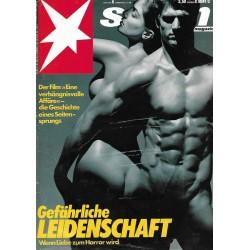 stern Heft Nr.6 / 4 Februar 1988 - Gefährliche Leidenschaft