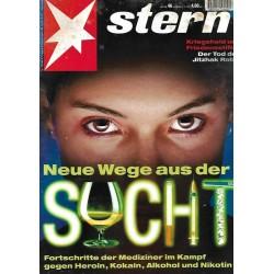 stern Heft Nr.46 / 9 November 1995 - Neue Wege aus der Sucht