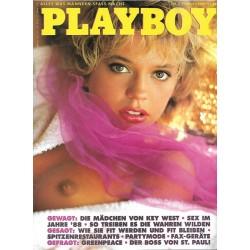 Playboy Nr.2 / Februar 1989 - Sarah Erni