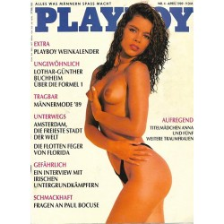Playboy Nr.4 / April 1989 -...
