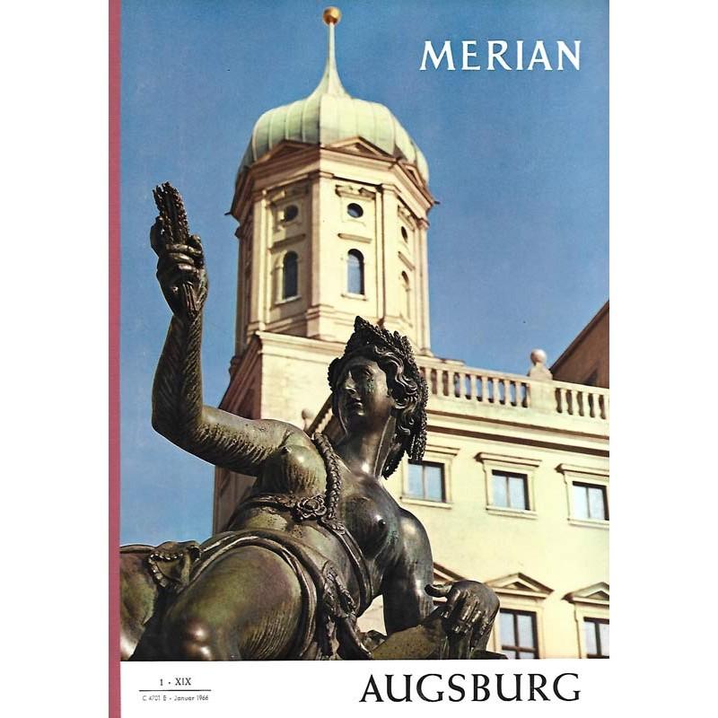 MERIAN Augsburg 1/XIX Januar 1966