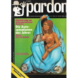 pardon Heft 3 / März 1971 - Die Autosensation des Jahres
