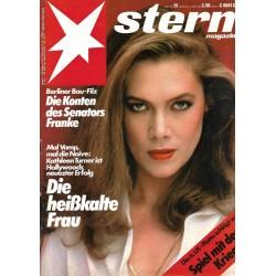 stern Heft Nr.15 / 3 April 1986 - Die heißkalte Frau