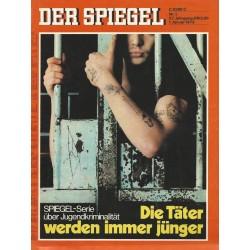 Der Spiegel Nr.1 / 1 Januar 1973 - Die Täter werden immer jünger