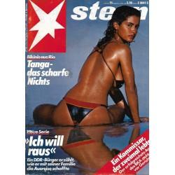 stern Heft Nr.15 / 5 April 1984 - Tanga, das scharfe nichts