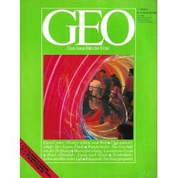 Geo Nr. 11 / November 1982 - Epcot Center