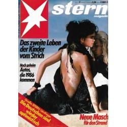 stern Heft Nr.2 / 2 Januar 1986 - Neue Masche für den Strand