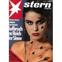 stern Heft Nr.41 / 2 Oktober 1986 - Aufbruch ins Reich der Sinne