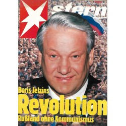 stern Heft Nr.36 / 29 August 1991 - Boris Jelzins Revolution
