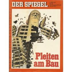 Der Spiegel Nr.29 / 16 Juli 1973 - Pleiten am Bau