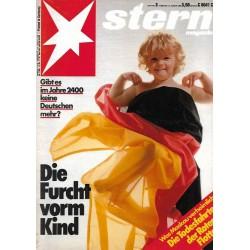 stern Heft Nr.3 / 10 Januar 1985 - Die Furcht vorm Kind