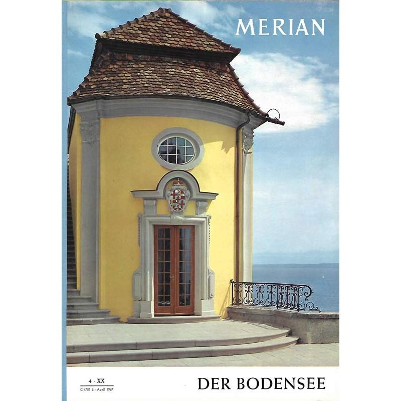 MERIAN Der Bodensee 4/XX April 1967