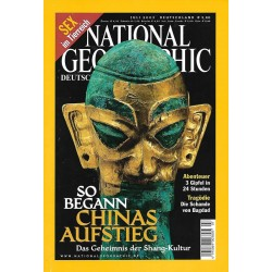NATIONAL GEOGRAPHIC Juli 2003 - Chinas Aufstieg