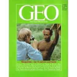 Geo Nr. 7 / Juli 1983 - Neuguinea vor 15 Jahren und heute