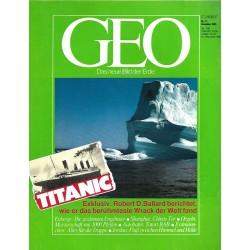 Geo Nr. 12 / Dezember 1985 - Titanic