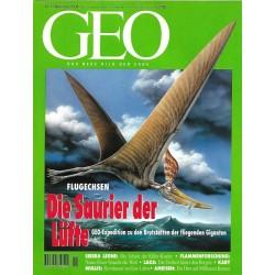 Geo Nr. 11 / November 1994 - Die Saurier der Lüfte