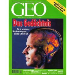 Geo Nr. 12 / Dezember 1994 - Das Gedächtnis