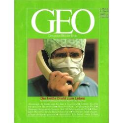 Geo Nr. 3 / März 1989 - Der heiße Draht zum Leben