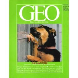 Geo Nr. 1 / Januar 1989 - Tiere auf Halde