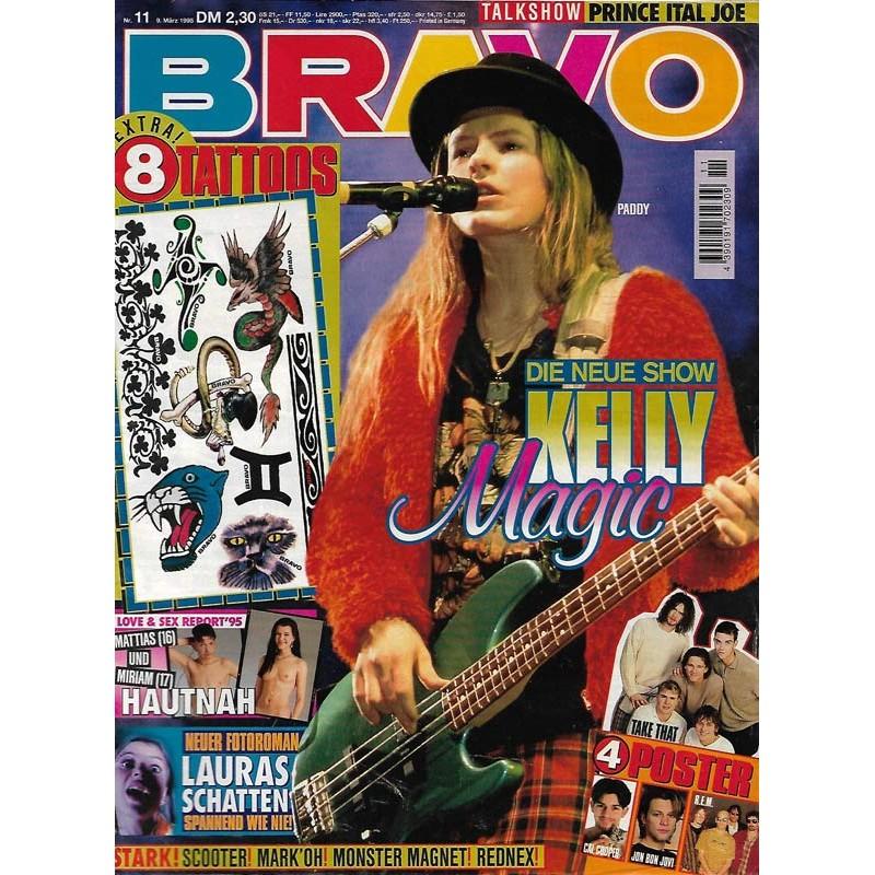 BRAVO Nr.11 / 9 März 1995 - Kelly Magic