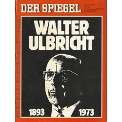 Der Spiegel Nr.32 / 6 August 1973 - Walter Ulbricht