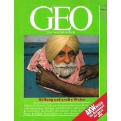 Geo Nr. 2 / Februar 1990 - Heilung auf uralte Weise