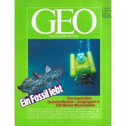 Geo Nr. 10 / Oktober 1987 - Ein Fossil lebt