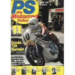 PS Die Motorrad Zeitung Heft 7 - Juli 1976 - Suzuki 750 Viertakt
