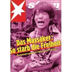stern Heft Nr.24 / 8 Juni 1989 - Das Massaker