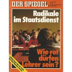 Der Spiegel Nr.15 / 9 April 1973 - Radikale im Staatsdienst
