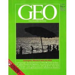 Geo Nr. 9 / September 1984 - Georgien, Mensch sein ist alles