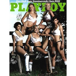 Playboy Nr.7 / Juli 2011 - Selina Wagner, Julia Simic, Ivana R.