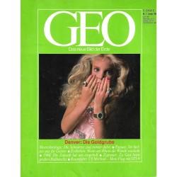 Geo Nr. 1 / Januar 1984 - Denver, die Goldgrube