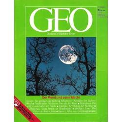 Geo Nr. 12 / Dezember 1984 - Der Mond und seine Macht