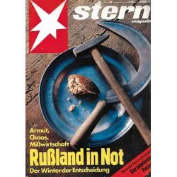 stern Heft Nr.47 / 14 November 1991 - Rußland in Not