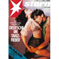 stern Heft Nr.29 / 14 Juli 1988 - Deutsche im Tanzfieber