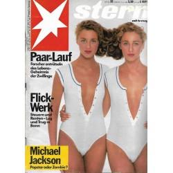 stern Heft Nr.25 / 15 Juni 1988 - Paarlauf