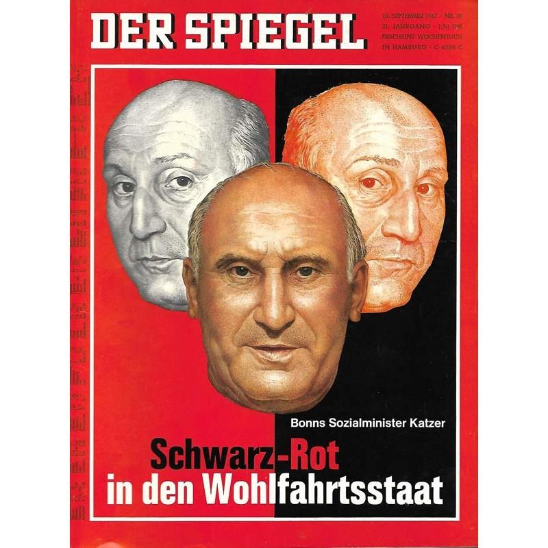Der Spiegel Nr.39 / 18 September 1967 - Schwarz-Rot