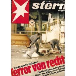 stern Heft Nr.41 / 2 Oktober 1980 - Terror von rechts