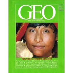 Geo Nr. 11 / November 1984 - Naturvölker