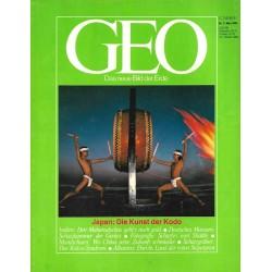 Geo Nr. 3 / März 1984 - Japan, die Kunst der Kodo