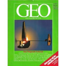 Geo Nr. 12 / Dezember 1988 - Das fliegende Fahrrad