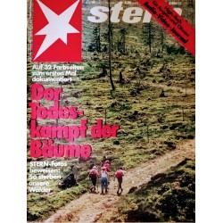stern Heft Nr.45 / 2 November 1989 - Der Todeskampf der Bäume