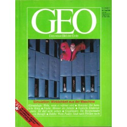 Geo Nr. 4 / April 1984 - Simulation