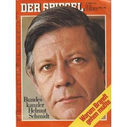 Der Spiegel Nr.20 / 13 Mai 1974 - Warum Brandt gehen mußte