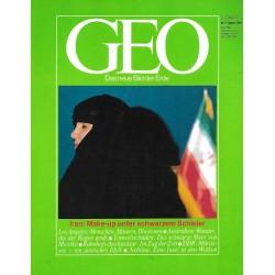 Geo Nr. 8 / August 1984 - Iran: Make-up unter schwarzem Schleier
