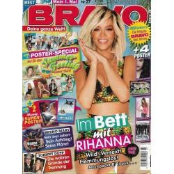 BRAVO Nr.27 / 27 Juni 2012 - Im Bett mit Rihanna