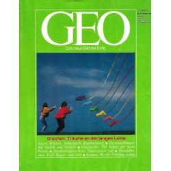 Geo Nr. 10 / Oktober 1984 - Drachen: Träume an der langen Leine